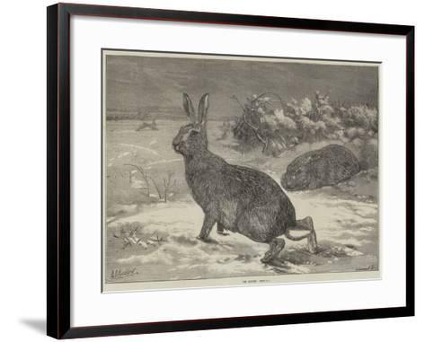 The Months, February-George Bouverie Goddard-Framed Art Print