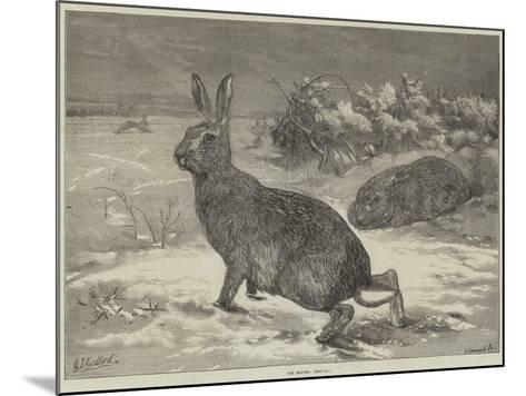 The Months, February-George Bouverie Goddard-Mounted Giclee Print