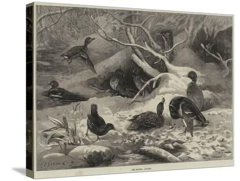 The Months, January-George Bouverie Goddard-Stretched Canvas Print