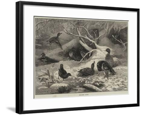 The Months, January-George Bouverie Goddard-Framed Art Print