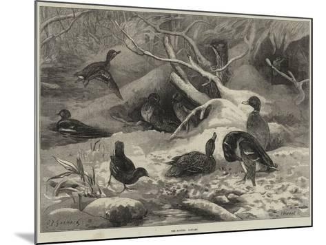 The Months, January-George Bouverie Goddard-Mounted Giclee Print