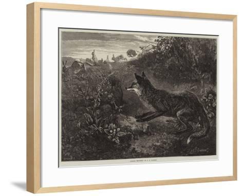 Gambols Disturbed-George Bouverie Goddard-Framed Art Print