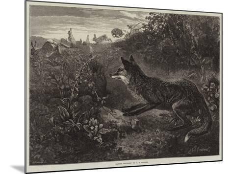 Gambols Disturbed-George Bouverie Goddard-Mounted Giclee Print