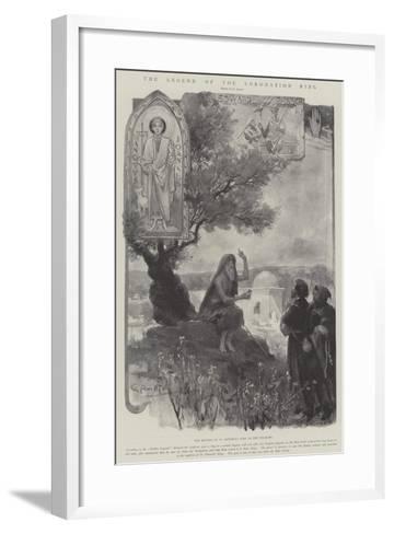 The Legend of the Coronation Ring-G.S. Amato-Framed Art Print