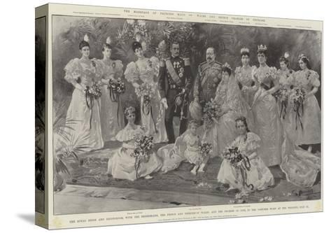 The Marriage of Princess Maud of Wales and Prince Charles of Denmark-G.S. Amato-Stretched Canvas Print