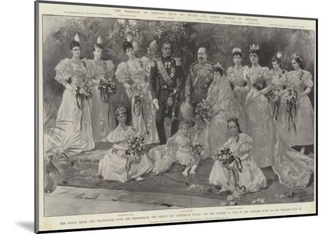 The Marriage of Princess Maud of Wales and Prince Charles of Denmark-G.S. Amato-Mounted Giclee Print