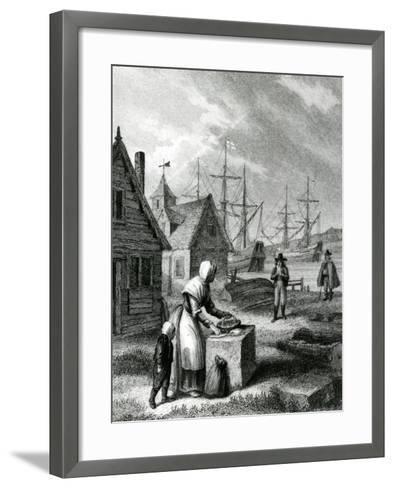 The Watermans Wife, Published in 1835-George Cruikshank-Framed Art Print
