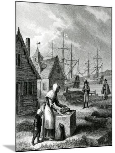 The Watermans Wife, Published in 1835-George Cruikshank-Mounted Giclee Print