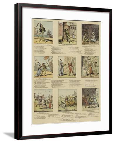The Loving Ballad of Lord Bateman-George Cruikshank-Framed Art Print