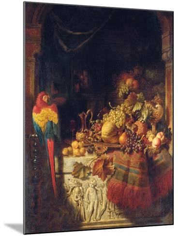 The Burgomaster's Dessert, 1860-George Lance-Mounted Giclee Print