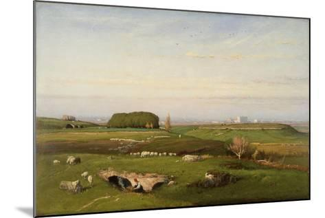 In the Roman Campagna, 1873-George Snr^ Inness-Mounted Giclee Print