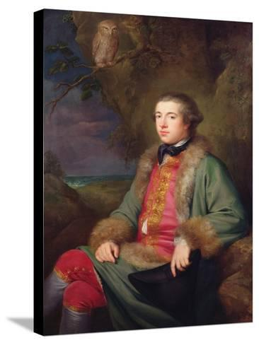 James Boswell, 1765-George Willison-Stretched Canvas Print