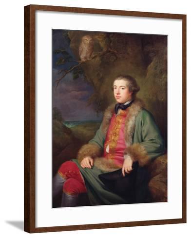 James Boswell, 1765-George Willison-Framed Art Print