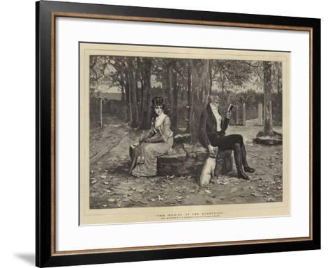 The Waning of the Honeymoon-George Henry Boughton-Framed Art Print
