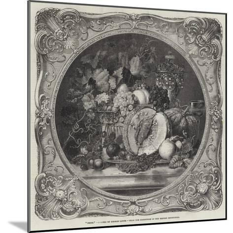 Fruit-George Lance-Mounted Giclee Print