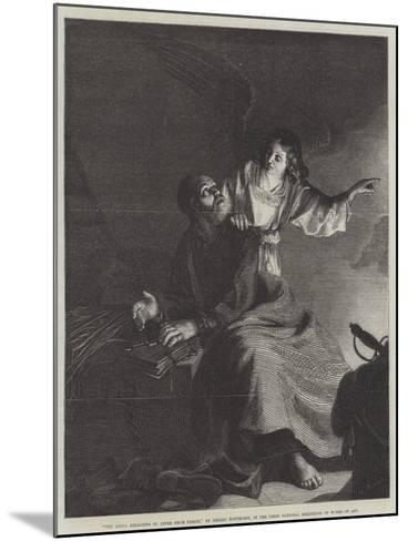 The Angel, Releasing St Peter from Prison-Gerrit van Honthorst-Mounted Giclee Print