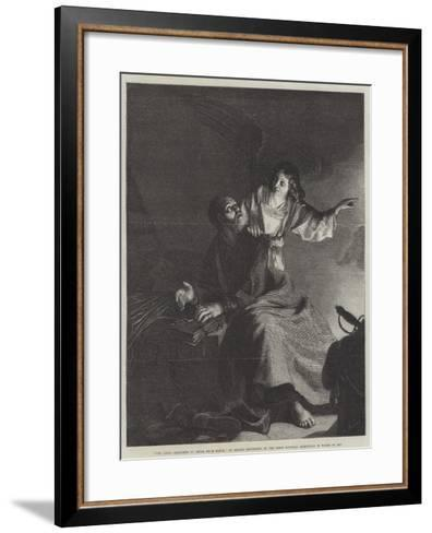 The Angel, Releasing St Peter from Prison-Gerrit van Honthorst-Framed Art Print
