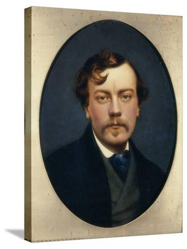 Self-Portrait-George Hepper-Stretched Canvas Print