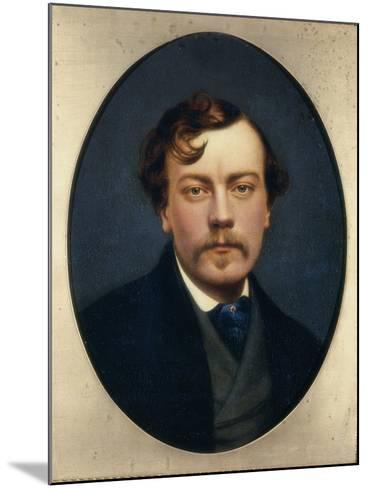 Self-Portrait-George Hepper-Mounted Giclee Print