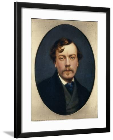 Self-Portrait-George Hepper-Framed Art Print