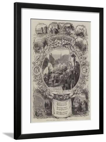 Spring-Time-George Townsend-Framed Art Print