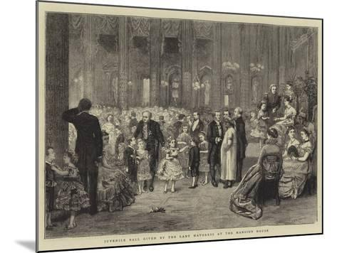 Juvenile Ball Given by the Lady Mayoress at the Mansion House-George Goodwin Kilburne-Mounted Giclee Print