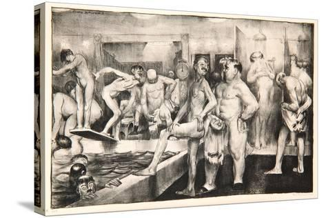 The Shower-Bath, 1917-George Wesley Bellows-Stretched Canvas Print