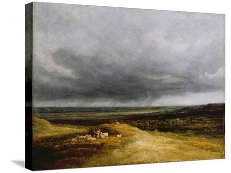 Approaching Storm, C.1820-25-Georges Michel-Stretched Canvas Print