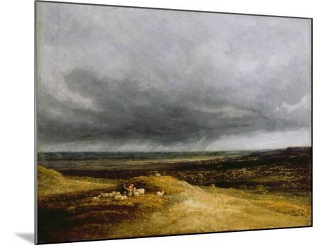 Approaching Storm, C.1820-25-Georges Michel-Mounted Giclee Print