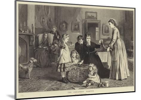The Christmas Hamper-George Goodwin Kilburne-Mounted Giclee Print
