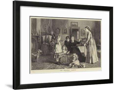 The Christmas Hamper-George Goodwin Kilburne-Framed Art Print