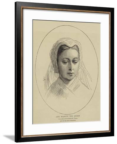 Her Majesty the Queen-George Housman Thomas-Framed Art Print