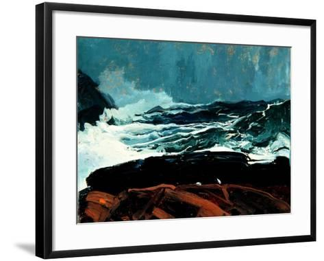 Lobster Cove, Monhegan, Maine, 1913-George Wesley Bellows-Framed Art Print