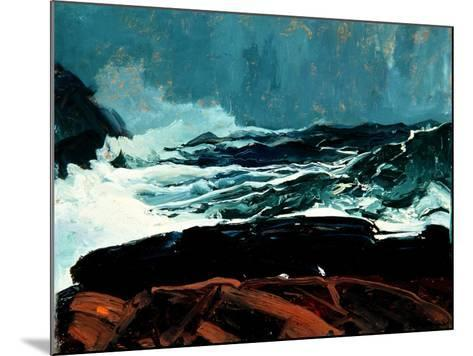 Lobster Cove, Monhegan, Maine, 1913-George Wesley Bellows-Mounted Giclee Print