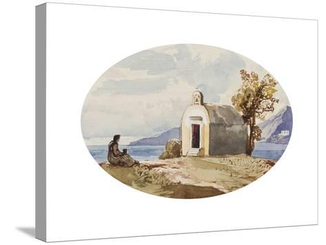 Chapel by the Sea-Giacinto Gigante-Stretched Canvas Print