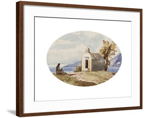 Chapel by the Sea-Giacinto Gigante-Framed Art Print