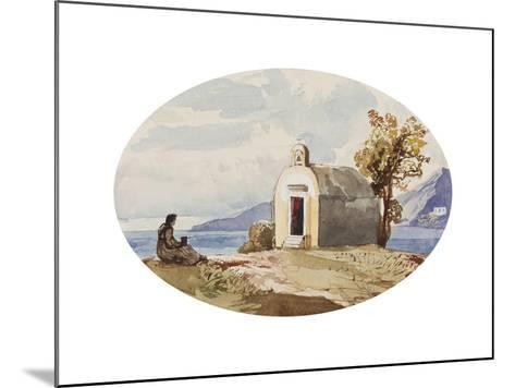 Chapel by the Sea-Giacinto Gigante-Mounted Giclee Print