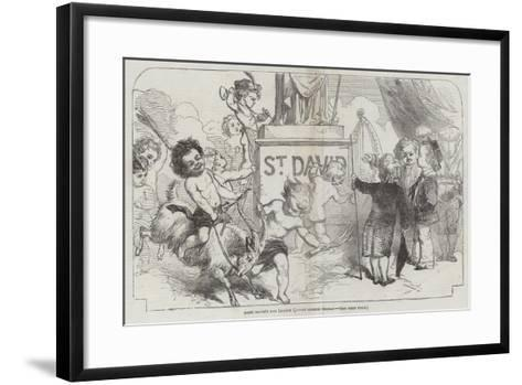 Saint David's Day, (1 March)-George Housman Thomas-Framed Art Print