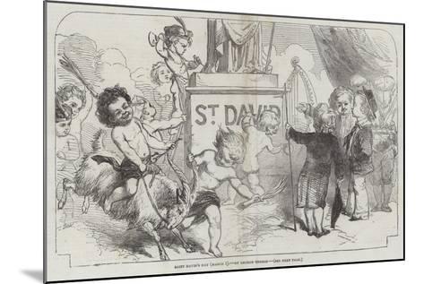 Saint David's Day, (1 March)-George Housman Thomas-Mounted Giclee Print