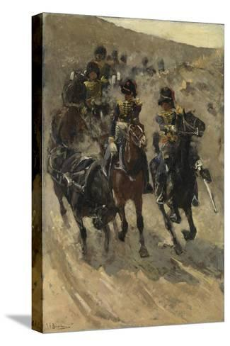 The Yellow Riders, 1885-86-Georg-Hendrik Breitner-Stretched Canvas Print