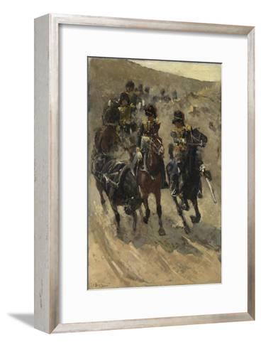 The Yellow Riders, 1885-86-Georg-Hendrik Breitner-Framed Art Print
