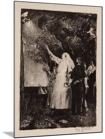 Hail to Peace, Christmas 1918-George Wesley Bellows-Mounted Giclee Print