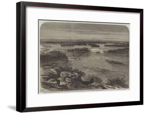 Progress of the Prince of Wales in Canada-George Henry Andrews-Framed Art Print