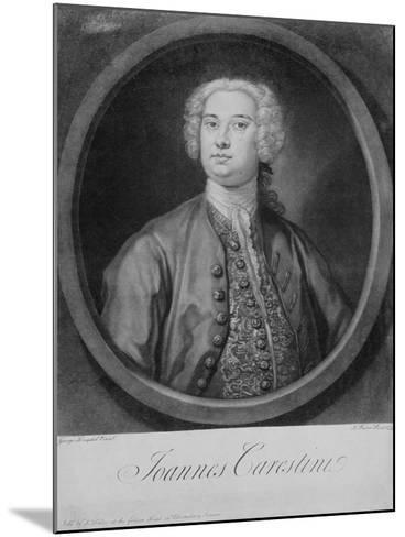 Giovanni Carestini (C.1704-C.1760), 1735-George Knapton-Mounted Giclee Print