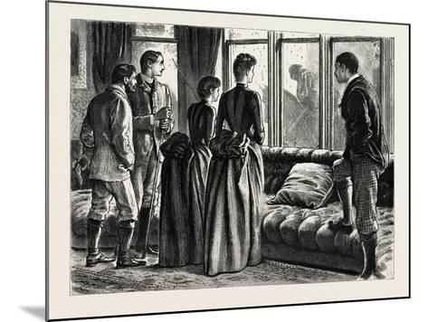 The Mystery, Interior, 1888-George L. Du Maurier-Mounted Giclee Print