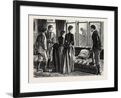 The Mystery, Interior, 1888-George L. Du Maurier-Framed Art Print