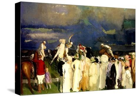 A Game of Polo, 1910-George Wesley Bellows-Stretched Canvas Print