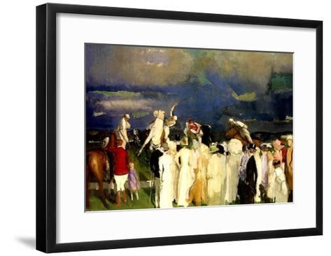A Game of Polo, 1910-George Wesley Bellows-Framed Art Print