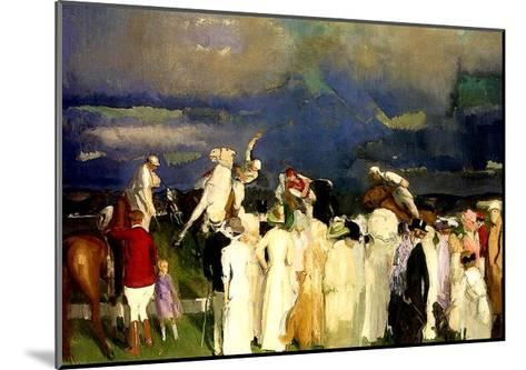 A Game of Polo, 1910-George Wesley Bellows-Mounted Giclee Print