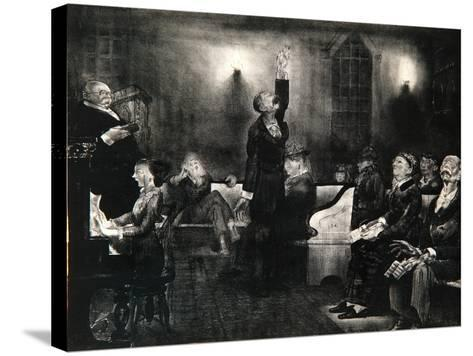 Prayer Meeting, 1916-George Wesley Bellows-Stretched Canvas Print